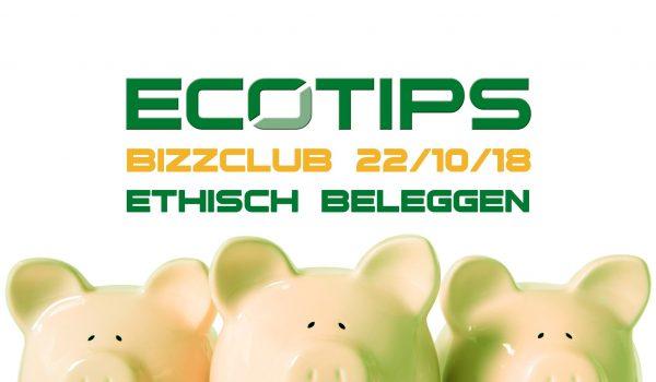 Kom jij ook naar de ecoTips Bizzclub?